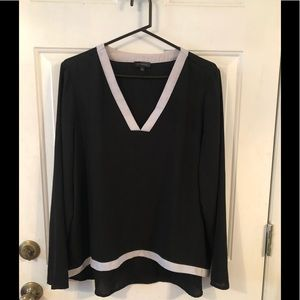 Limited Black and Cream Blouse. XL